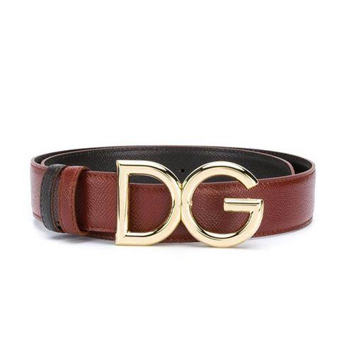 Thắt Lưng Dolce & Gabbana Dauphin Belt Màu Nâu Bản 3,5cm