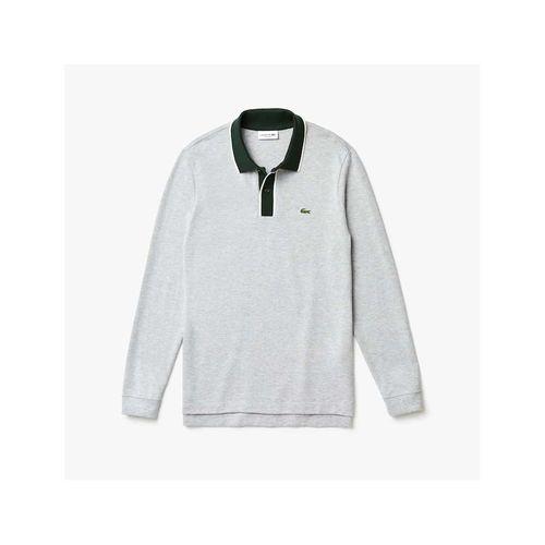 Áo Polo Lacoste Men's Regular Fit Cotton Piqué Polo Shirt Màu Xám Size S