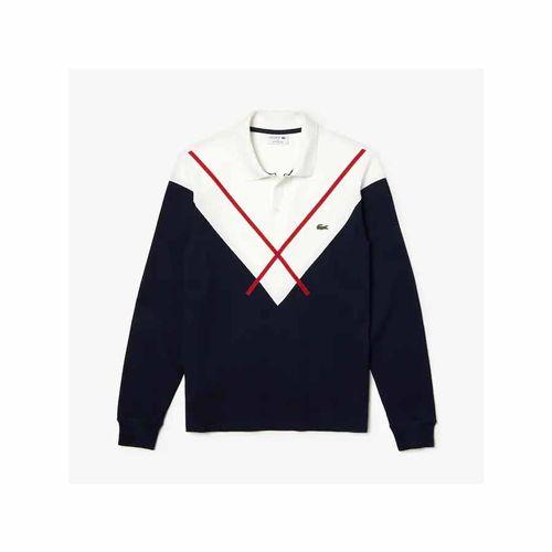 Áo Polo Lacoste De Hombre Lacoste Made In France Regular Fit Màu Đen Size XS