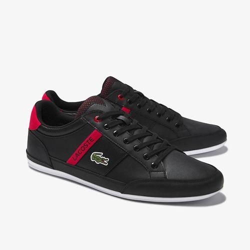 Giày Thể Thao Lacoste Chaymon 120 Màu Đen Đỏ Size 40.5