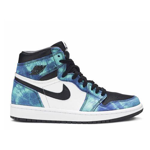 Giày Thể Thao Nike Air Jordan 1 Retro High Og Tie Dye Phối Màu