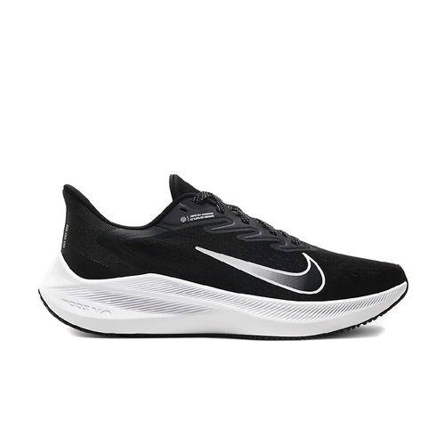 Giày Thể Thao Nike Air Zoom Winflo 7 Black/White Màu Đen Trắng Size 42