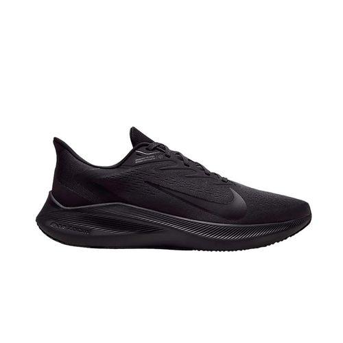 Giày Thể Thao Nike Air Zoom Winflo 7 Triple Black Màu Đen