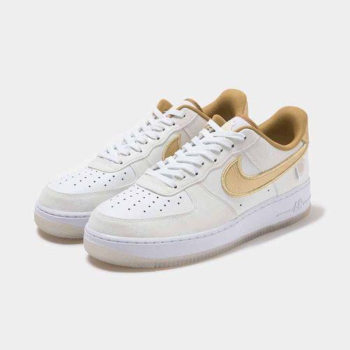 Giày Thể Thao Nike Airforce 1 World Wide Gold DA1343-170 Màu Trắng Vàng Size 40.5