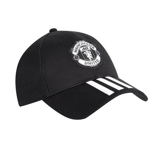 Mũ Adidas Manchester United Football Cap Black Màu Đen