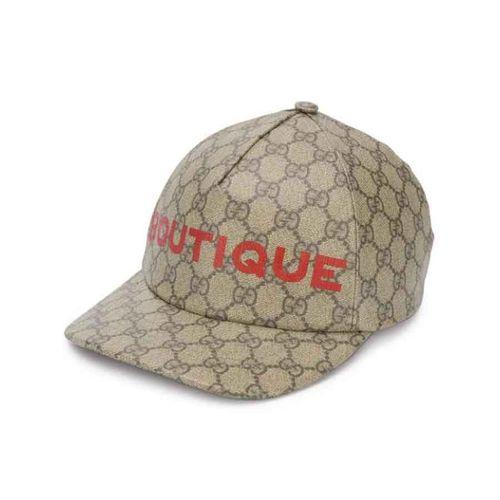 Mũ Gucci Boutique Print Baseball Cap