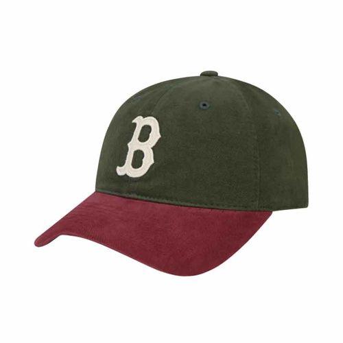 Mũ MLB Contranst N-Cover Ball Cap Boston Red Sox 32CP68011-43K Màu Xanh Phối Đỏ