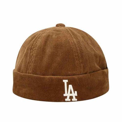 Mũ MLB Corduroy Watch Cap LA Dodgers 32CPVD011-07A Màu Nâu