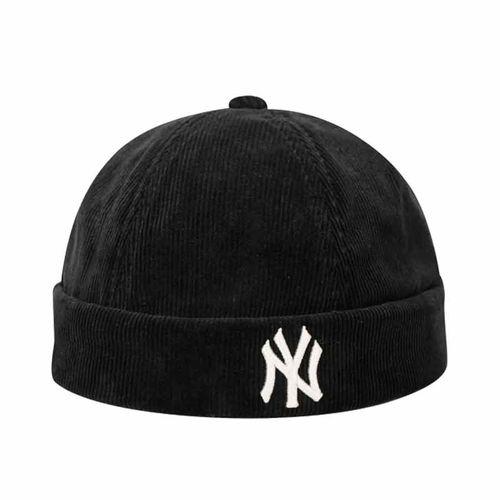 Mũ MLB Coruroy Watch Cap New York Yankees Màu Đen