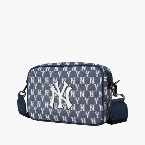 Túi Đeo Chéo MLB Jacquard Monogram Cross Bag New York Yankees Màu Xanh Navy