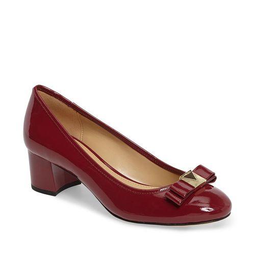 Giày Cao Gót Michael Kors Caroline Pumps Mulberry Màu Đỏ Mận