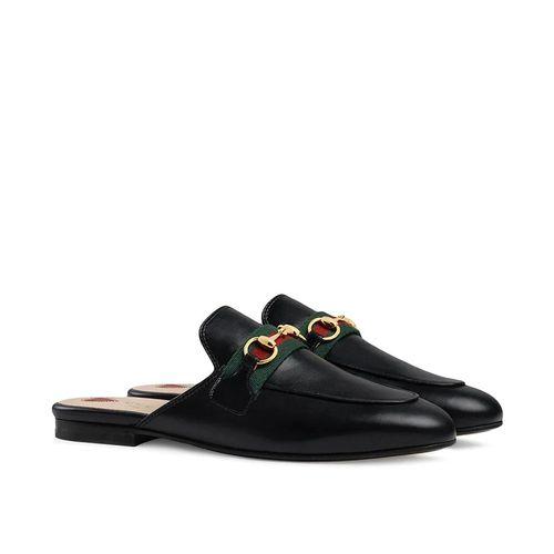Giày Gucci Princetown Slippers Màu Đen
