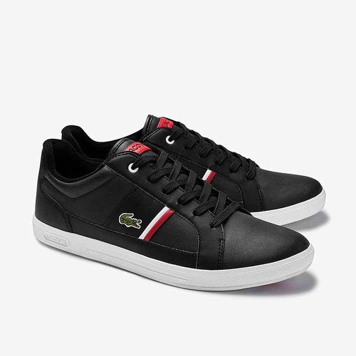 Giày Thể Thao Lacoste Europa 120 Màu Đen Size 41