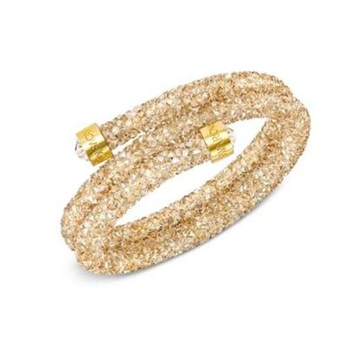 Vòng Đeo Tay Swarovski Crystaldust Wrap Bracelet In Gold