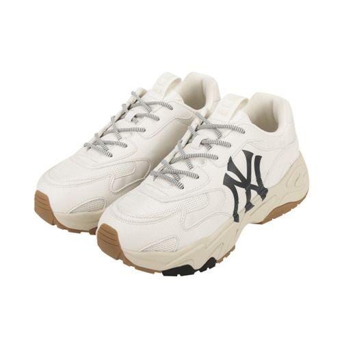 Giày MLB Big Ball Chunky LITE New York Yankees 32SHC3111-50W Màu Trắng Size 250