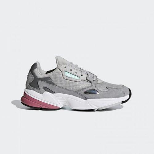 Giày Thể Thao Adidas Falcon Grey Pink D96698 Màu Xám