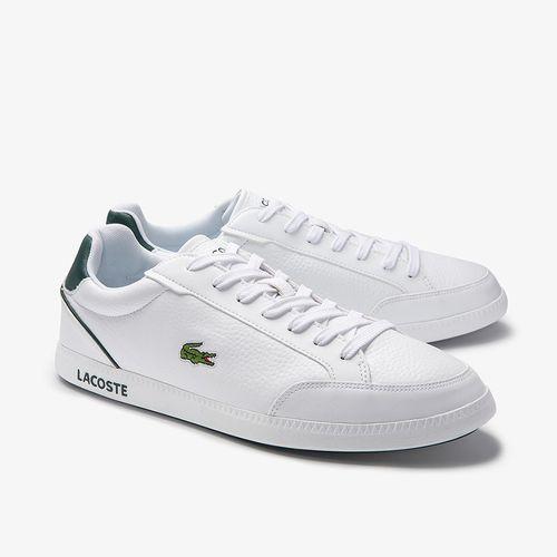 Giày Thể Thao Lacoste Graduatecap Màu Trắng Size 40.5