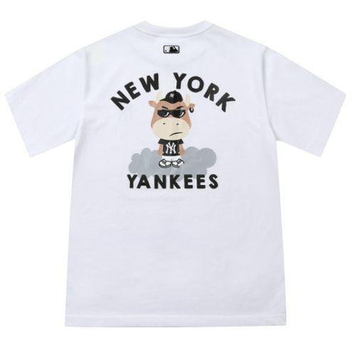 Áo Phông MLB New York Yankees Cash Cow Short Sleeve T-shirt Màu Trắng Size M