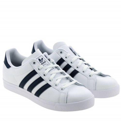Giày Thể Thao Adidas Coast Star White Navy Màu Trắng