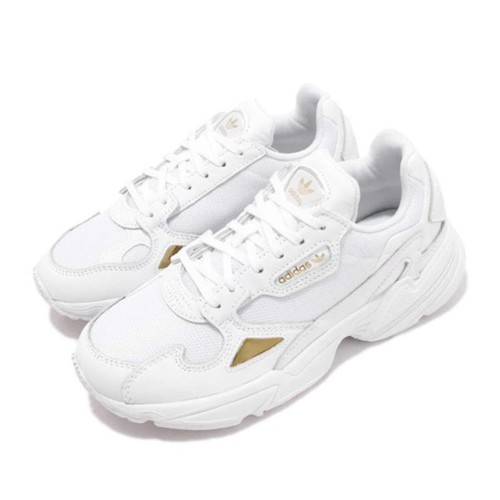 Giày Thể Thao Adidas Falcon All White Màu Trắng
