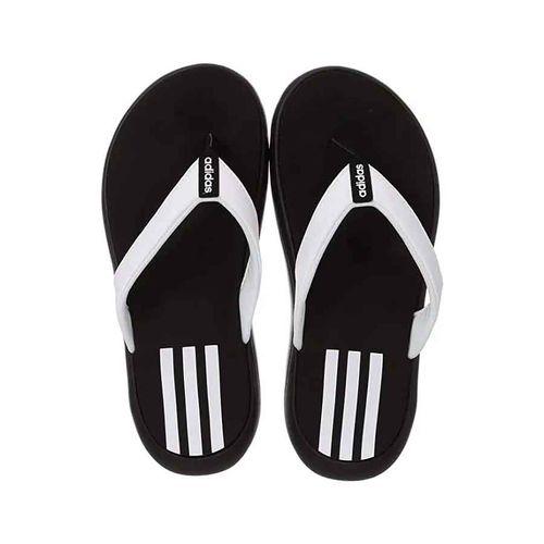 Dép Xỏ Ngón Adidas Comfort EG2065 Màu Đen Trắng Size 40.5