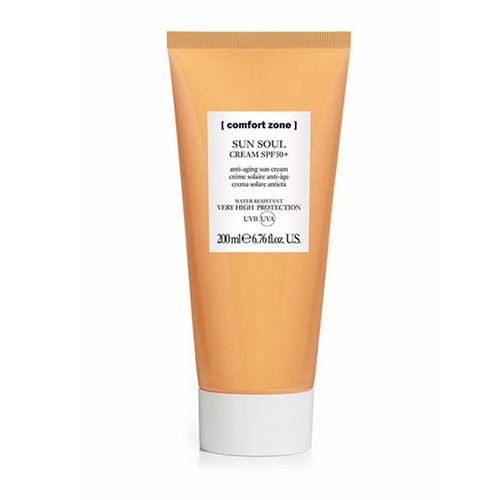 Kem Chống Nắng Trẻ Hóa Da Cho Mặt Và Body Comfort Zone Sun Soul Face & Body Cream SPF 50+ 200ml