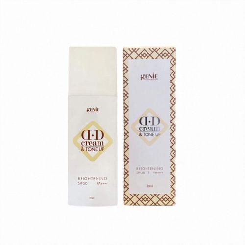 Kem Nền Chống Nắng Genie DD Cream Tone Up Brightening SPF50 PA+++ 30ml