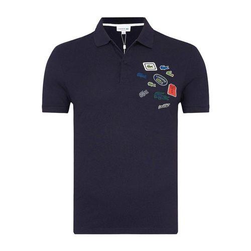 Áo Polo Men's Lacoste Regular Fit Cotton Polo Màu Xanh Navy