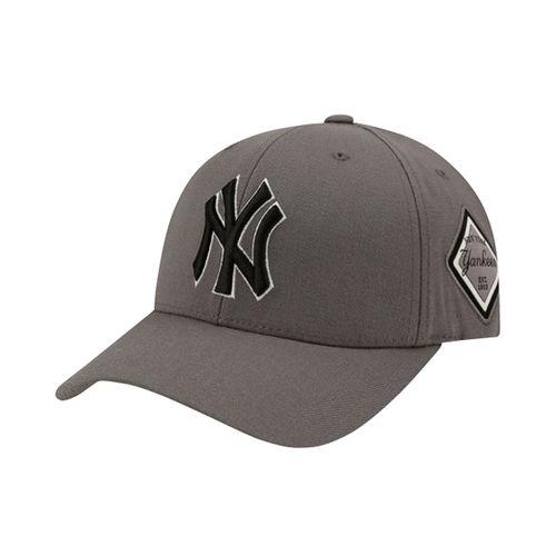 Mũ MLB Diamond Structure Ball Cap New York Yankees 32CP85111-50M Màu Xám
