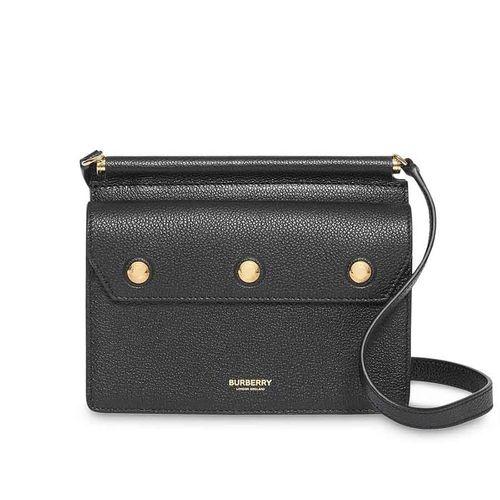 Túi Đeo Chéo Burberry Mini Title Bag Black 8014579 Màu Đen