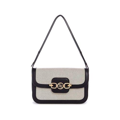 Túi Đeo Vai Guess Hensley Convertible Shoulder Bag Black Multi