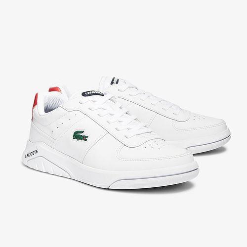 Giày Lacoste Game Advance 0721 Màu Trắng Đỏ Size 42