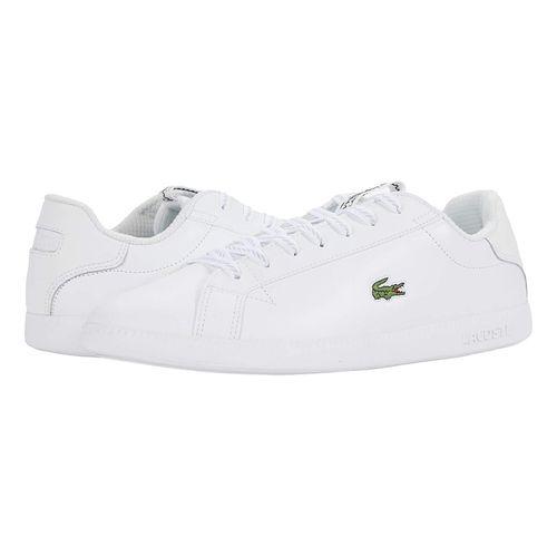 Giày Thể Thao Lacoste Graduate 520 Màu Trắng Size 40.5
