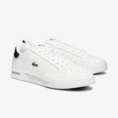 Giày Thể Thao Lacoste Twin Serve 0721 Màu  Trắng Xanh Size 43