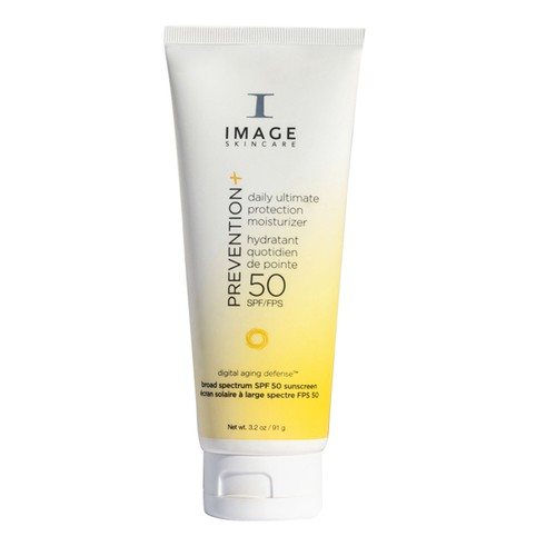 Kem Hỗ Trợ Chống Nắng Cho Da Hỗn Hợp Image Skincare Prevention Daily Ultimate Protection Moisturizer SPF 50, 91g