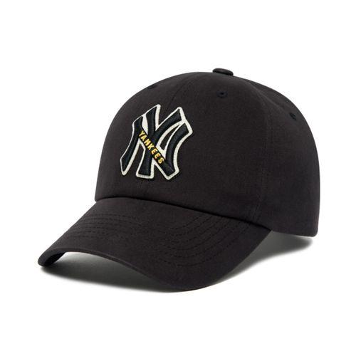 Mũ MLB Applique Logo Unstructured Ball Cap New York Yankees 3ACP0601N-50BKS Màu Đen