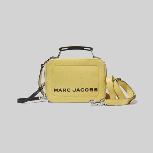 Túi Xách Marc Jacobs The Textured Mini Box Bag Màu Vàng