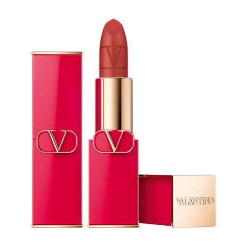 Son Rosso Valentino Refillable Lipstick 409A Copper Couture Matte Màu Cam Đất