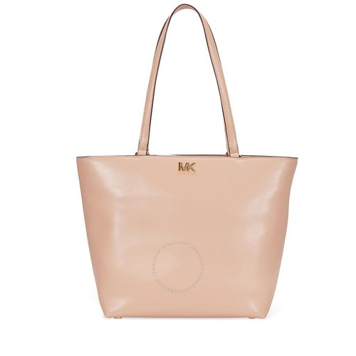 Túi Tote Michael Kors Mott Medium Leather Tote - Oyster Màu Hồng