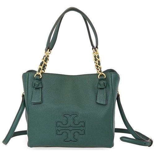 Túi Xách Tay Tory Burch Ladies Harper Small Satchel - Green Màu Xanh Lá Cây