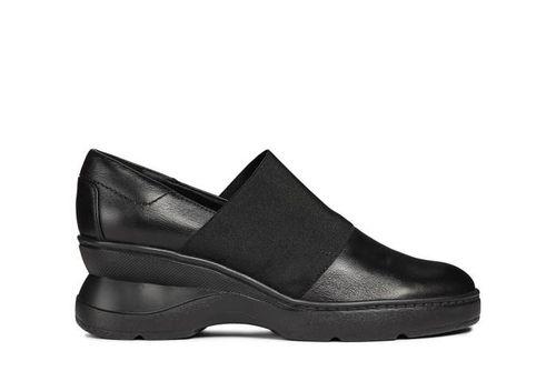Giày Slip-On Nữ Geox D ASCYTHIA B NAPPA Màu Đen Size 39