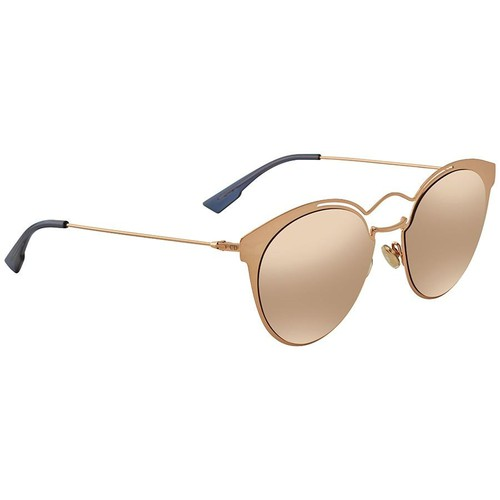 Kính Mát Dior Nebula Multilayer Gold Browline Ladies Sunglasses DIORNEBULA DDB/SQ 54