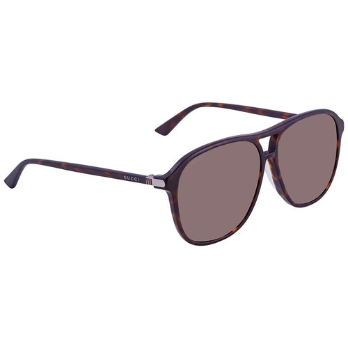 Kính Mát Gucci Rectangular Men's Sunglasses GG0016SA 003 59