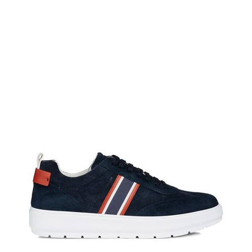 Giày Sneakers Nam Geox U KAULA D SUEDE+SYNT.LEA Màu Xanh Navy Size 40