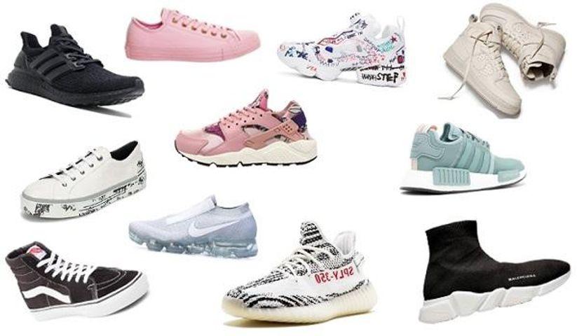Top 20 thương hiệu giày thể thao HOT nhất nửa đầu năm 2020